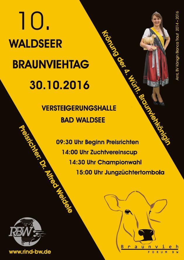 Waldseer Braunviehtag 2016