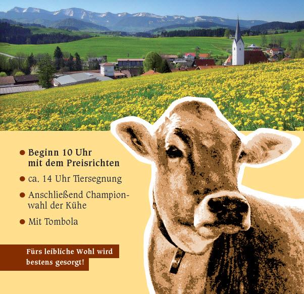 Jubiläums-Viehschau der VZG Stiefenhofen